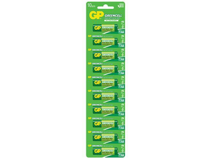 Picture of GP Batteries Greencell - AA 10 pcs.