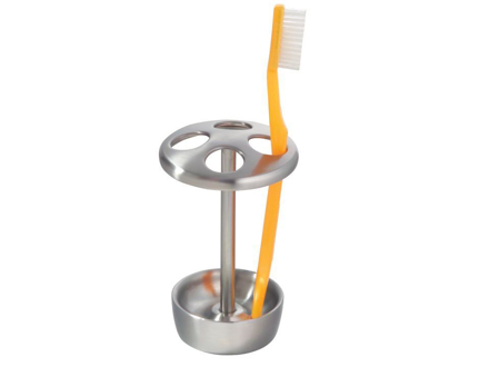 Interdesign Forma Series - Toothbrush Stand Brushed Finish の画像