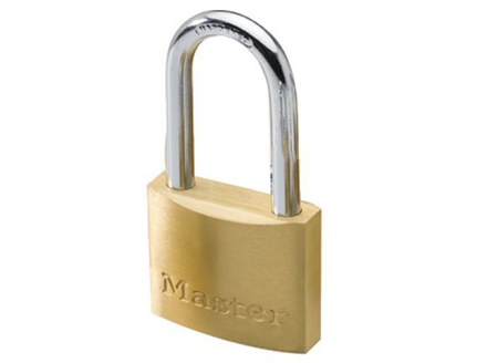 Master Lock 40MM Long Shackle Brass Padlock, MSP1902DLF의 그림
