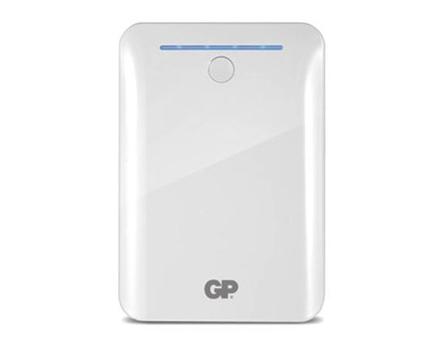 GP Batteries DC POWER BANK PORTABLE 10400MAH WHITE の画像