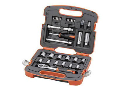 Picture of Tactix DR. Socket Set. 33 pcs. 1/4 in.