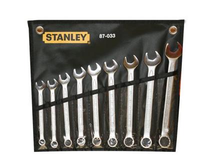 Stanley Slimline Combination Wrench Set 9PCS. ST87033 の画像