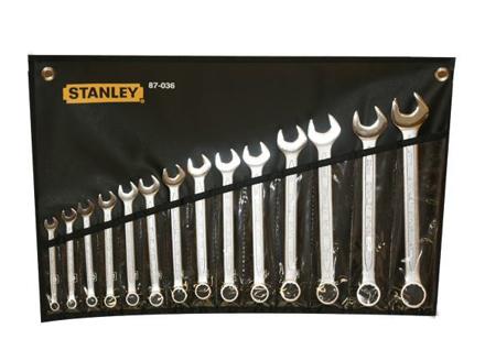 Stanley Slimline Combination Wrench Set 14PCS.   ST87036의 그림