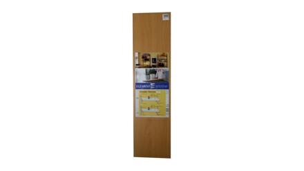 Element System Wooden Shelving 800mm X 200mm - Beech の画像