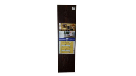 Element System Wooden Shelving 800mm X 200mm - Ebony の画像