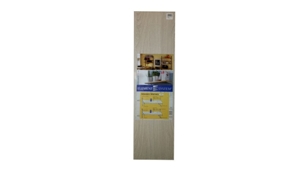 Element System Wooden Shelving 800mm X 250mm - Alpine の画像