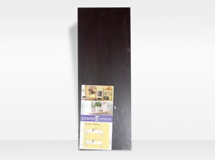 Element System Wood Shelving 250mm Stipple Wenge の画像