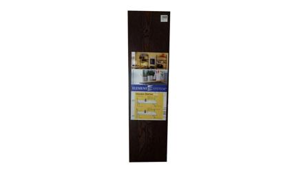 Element System Wooden Shelving 800mm X 250mm - Ebony の画像