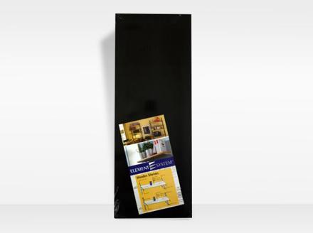 Element System Wood Shelving 300mm Stipple Black の画像