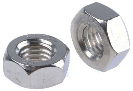 304 Stainless Steel Hex Nut  - Metric Size の画像