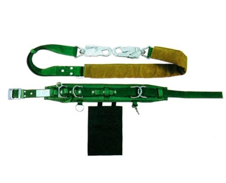 Adela Linemans Safety Belt with Webbing Lanyard Medium Hook (H-117)의 그림
