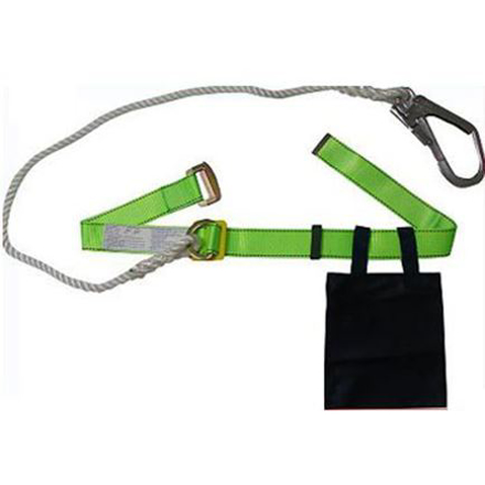 Adela Industrial Safety Belt Double Ring with Big Hook H-131의 그림