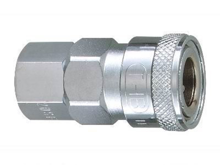 "THB 3/8"" Steel Quick Coupler Body - Female End の画像"