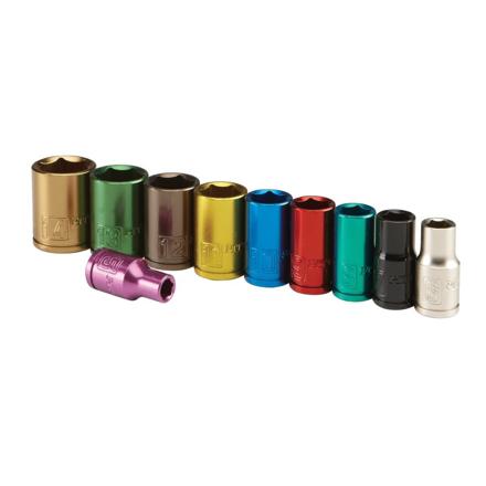Lotus Colorful Socket 10 Pcs. 12 Pts. - LSW010 の画像