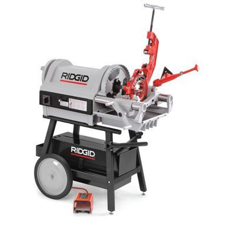 Ridgid Pipe & Bolt Threading Machine Model 1224 の画像