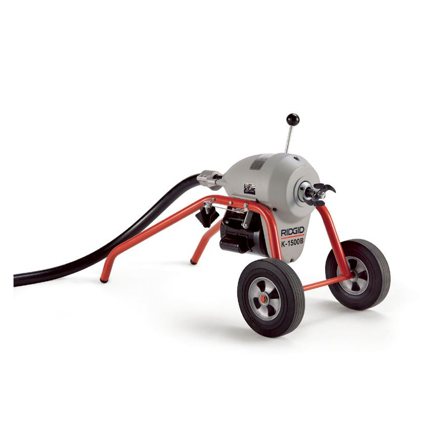 Ridgid K1500B Sectional Drain Cleaning Machine 230V 50/60Hz の画像