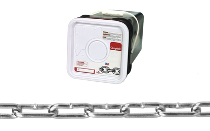 Picture of USA Campbell Straight Link Coil Chain - Blu-Krome Finish