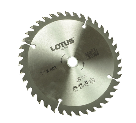 Lotus LTCT740 TCT Saw Blade の画像