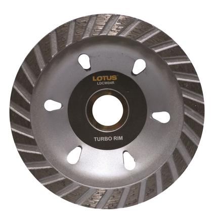 Lotus LDCW04R Diamond Cup Wheel (Rim) の画像