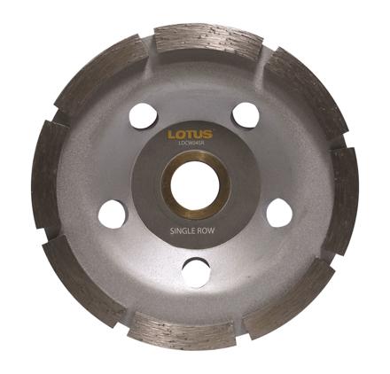 Lotus LDCW04SR Diamond Cup Wheel (Single) の画像