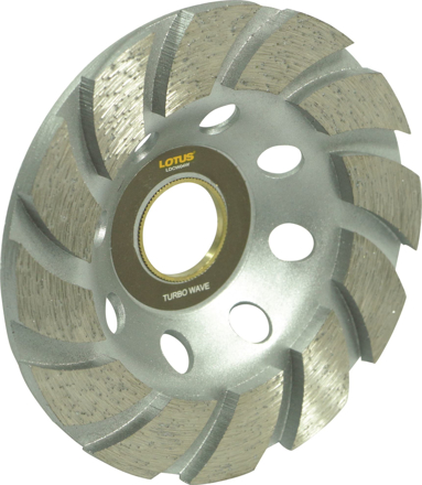 Lotus LDCW04W Diamond Cup Wheel (Wave)의 그림