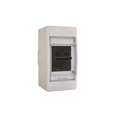 Picture of Royu Safety Breaker with Cover & Outlet Moulded Case Bolt-On Type Flame Retardant Body RSB30C/O