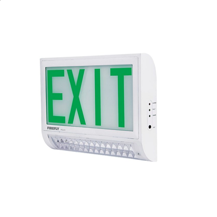Firefly Double Emergency Back Up Exit Light with LED Emergency Light FEL231 の画像
