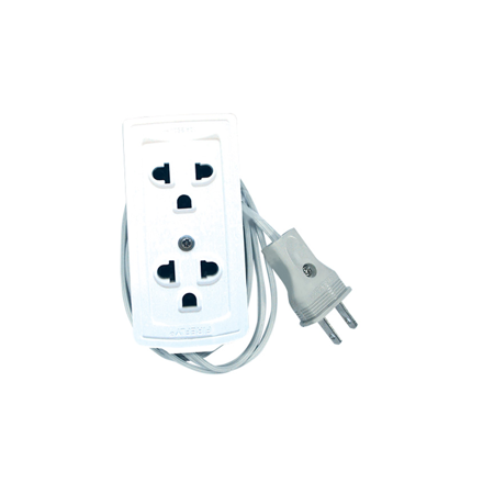 Firefly Universal Duplex with Ground Convenience Outlet ECSDG402 の画像