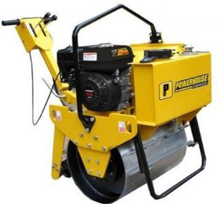 Powerhouse Road Roller Single Drum PHRR-SD450KG-EY20-5HP GAS의 그림