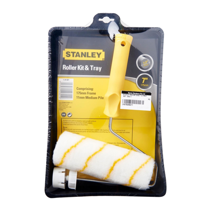 Picture of Stanley Cage Frame Paint Roller And Tray Set 29-821-1-23