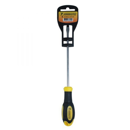 Picture of Powerhouse Cushion Grip Flat Screwdriver  T33411