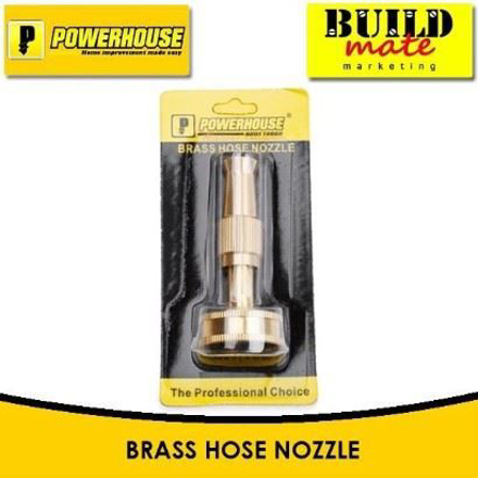 Powerhouse Brass Hose Nozzle の画像