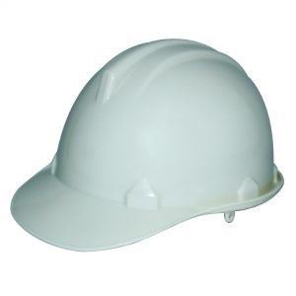 Picture of Powerhouse Abs Plastic Safety Helmet H.D White