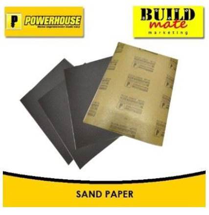 Powerhouse Waterproof Sandpaper No. 120 の画像