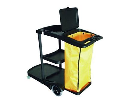 EKO Janitor CartPP Material With PVC Bag EKEK26180의 그림