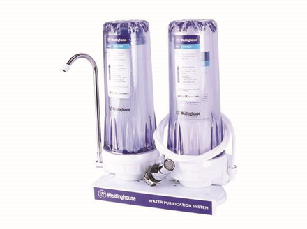 Westinghouse2 Stage Water Filter, PP + GAC Filter, WHWWPS106A2의 그림