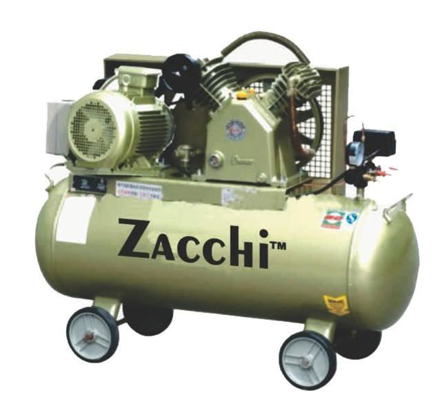Zacchi Industrial Type Belt Air Compressor ZAC-100 の画像