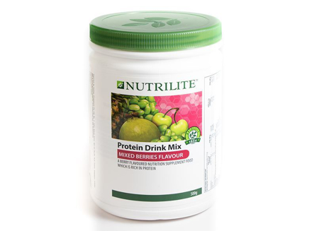 Nutrilite Protein Mix Berries Flavor Drink Mix の画像