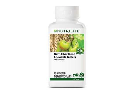 Nutrilite Nutri Fiber Blend Chewable Tablet의 그림