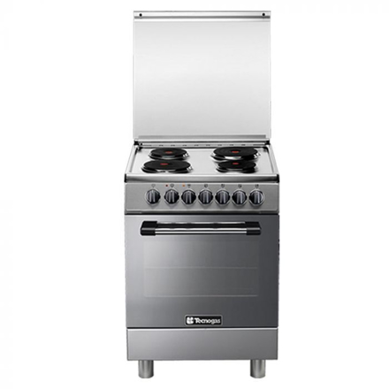 Tecnogas P3X66E04 60cm, 4 Electric Hotplates + Electric Multifunction Oven | Order Basis の画像