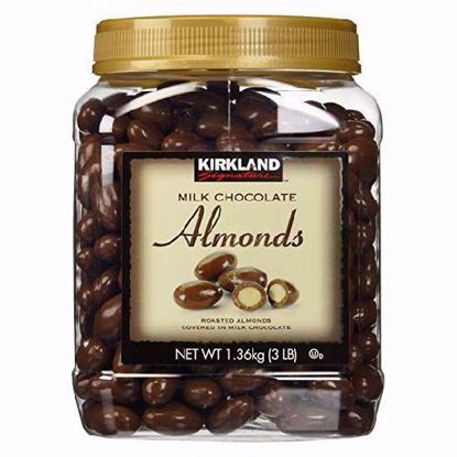 Picture of Kirkland Milk Chocolate Almonds