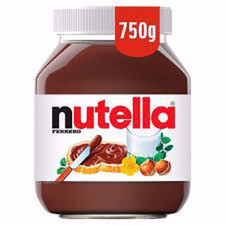 Nutella Chocolate Hazelnut Spread 750g의 그림