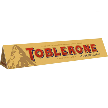 Toblerone Milk Chocolate 360g의 그림