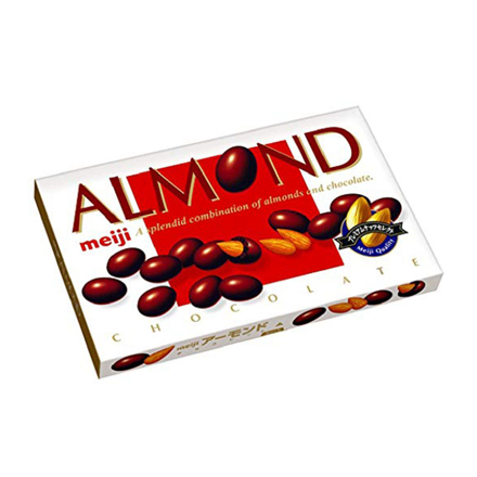 Meiji Almond Chocolate의 그림