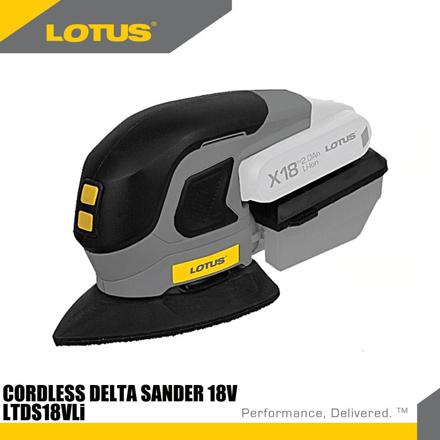 Lotus Delta Sander 18V X-LINE LTDS18VLI의 그림