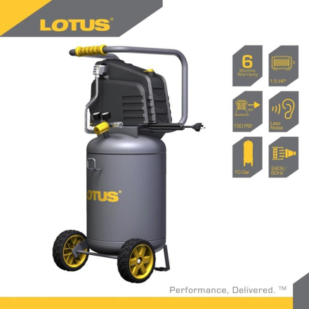 Lotus Air Compressor 10G 1.5HP LTVC3800 の画像