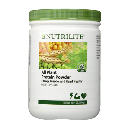 Nutrilite  All Plant Protein Powder Canister の画像