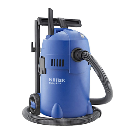 Buddy II 18 Litres Wet and Dry Vacuum Cleaner-NFBUDDYII18 の画像