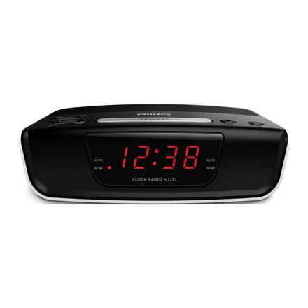 Philips Digital Tuning Clock Radio AJ3123/12의 그림