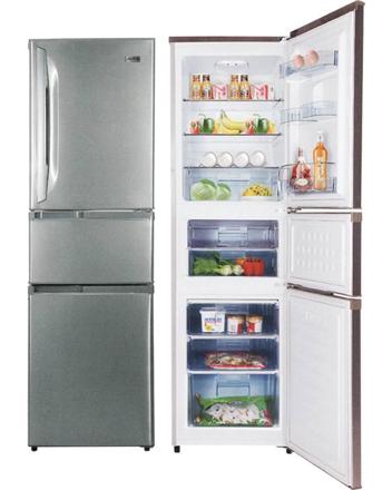 Markes 3 Door Bottom Refrigerator MR3BF-238J の画像